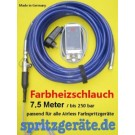 Farbheizschlauch 7,5 m Airless Farbspritzgerät Made in Germany