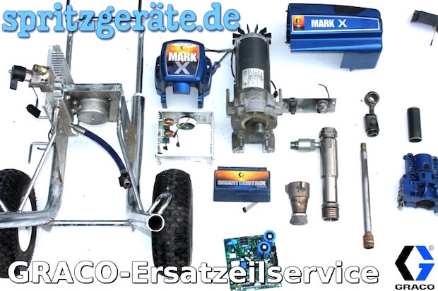 Graco Ersatzteile Reparatur