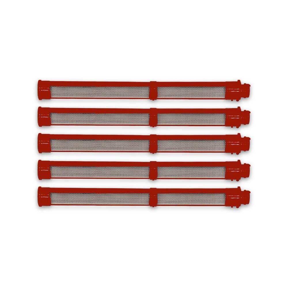 Pistolen Einsteckfilter rot (passend für Graco)