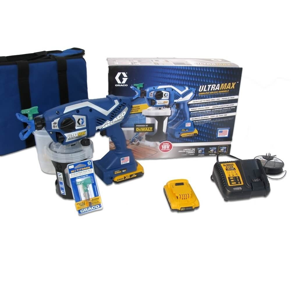 Graco Ultramax Handsprayer Set lösemittelfest