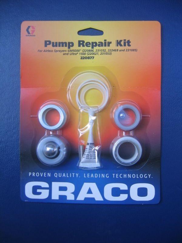 Reparatursatz Packungen für Graco Airless EM 5000