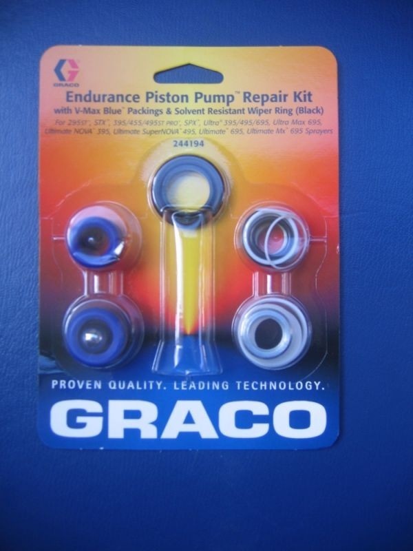 Reparatursatz Packungen für Graco Airless UltraMax695 Typ1