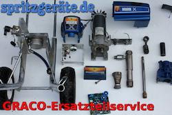Ersatzteile für Graco Spritzgeräte